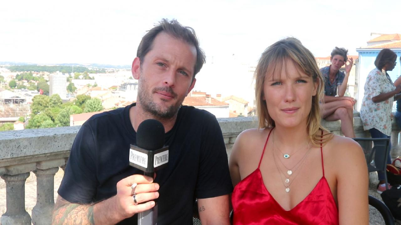 Bonhomme: Nicolas Duvauchelle and Ana Girardot