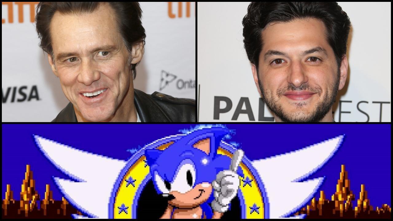 Ben Schwartz dans le rôle du hérisson bleu — Sonic le film