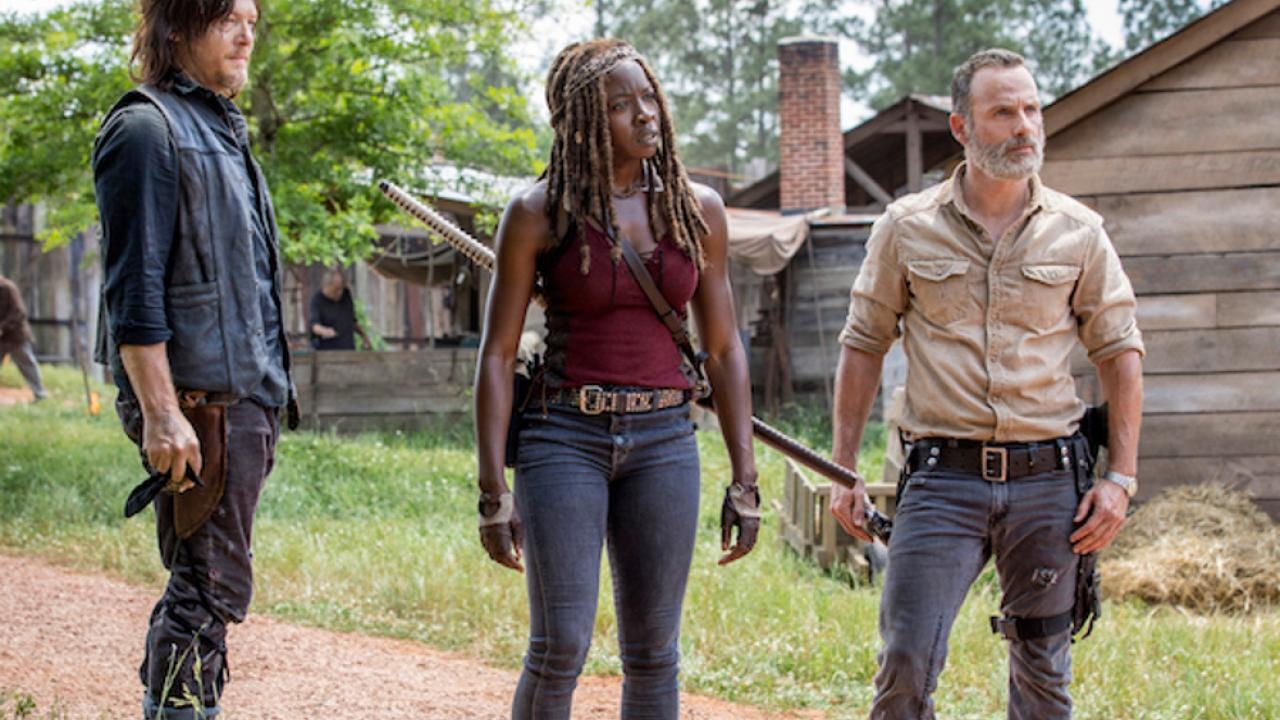 walking dead 901 michonne