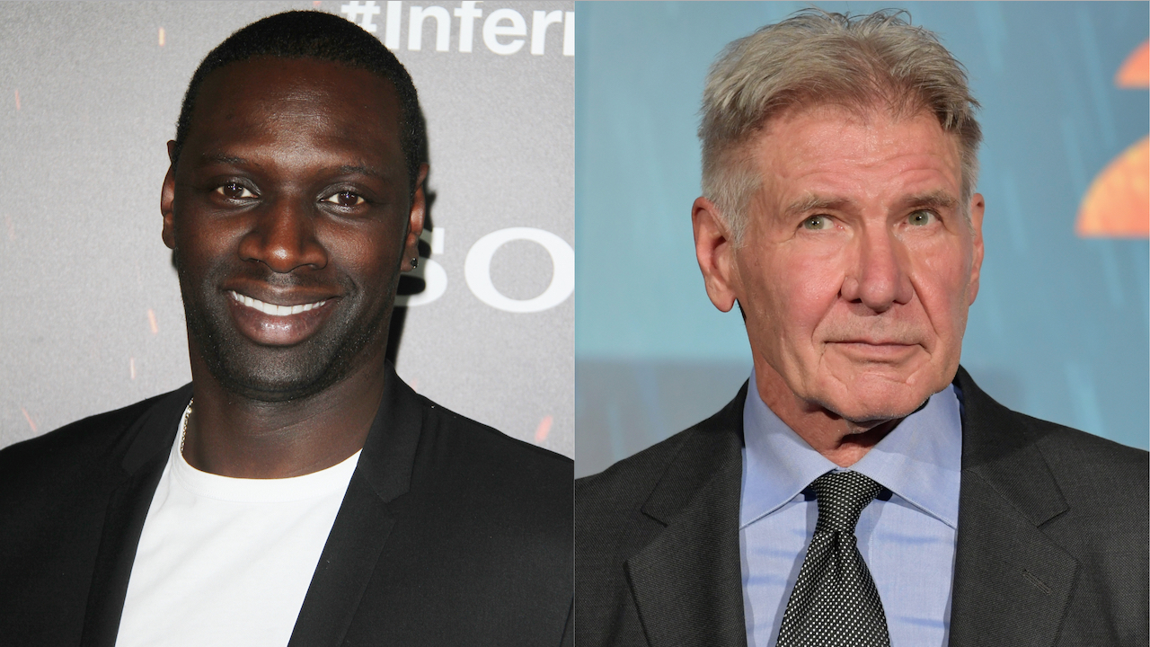 Omar Sy Harrison Ford Wall of the Wild