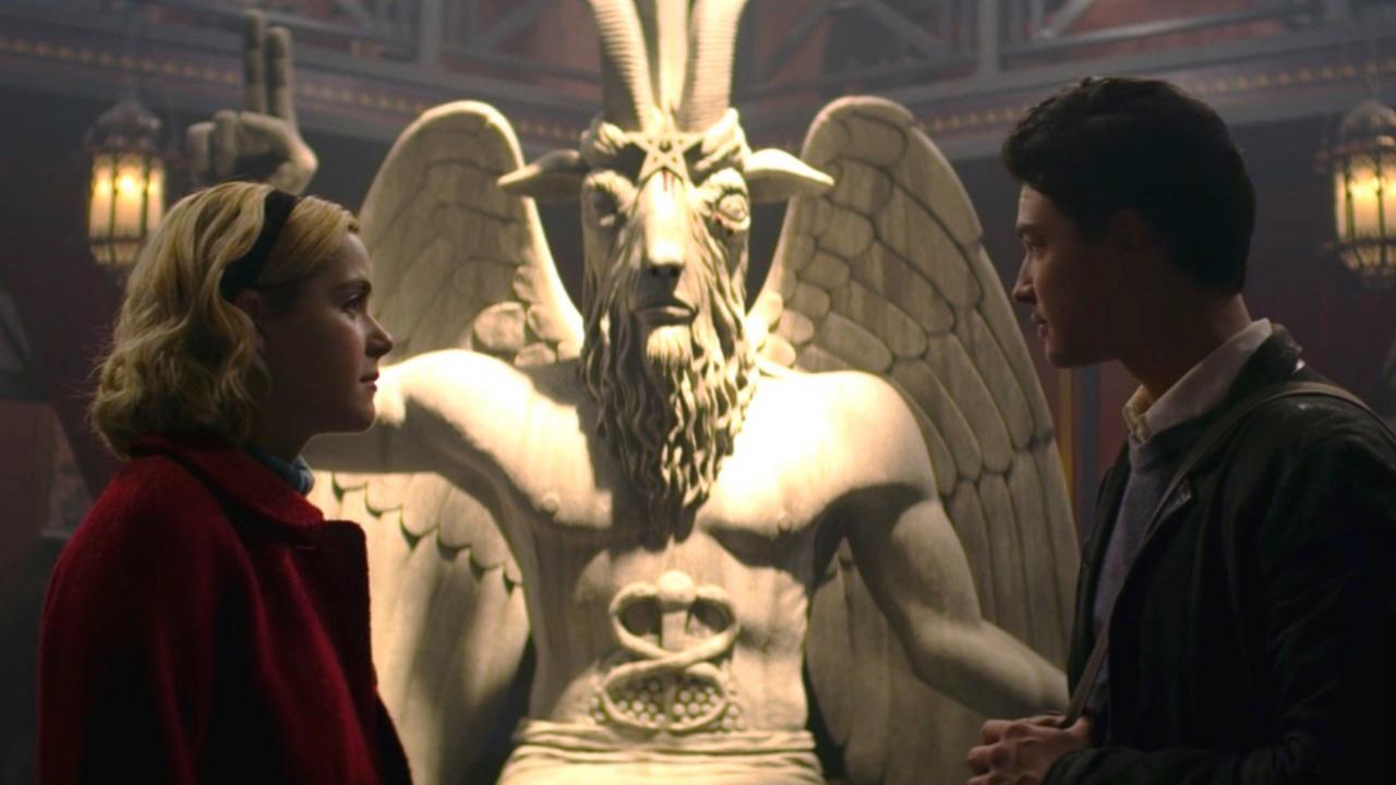 Calendrier Satanique 2019.Le Temple Satanique Compte Poursuivre Sabrina Netflix En