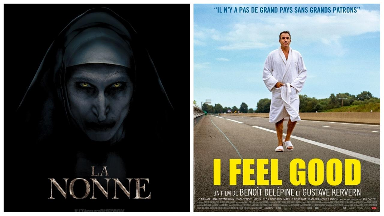 Box-office français du 2 octobre : La Nonne cartonne, I Feel Good est sur le podium