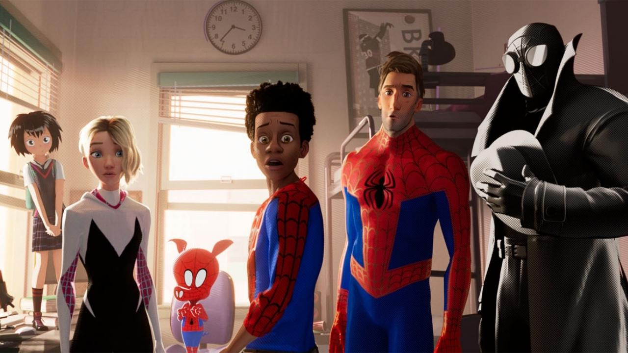 Spider-Man into the Spider Verse : un premier extrait très prometteur