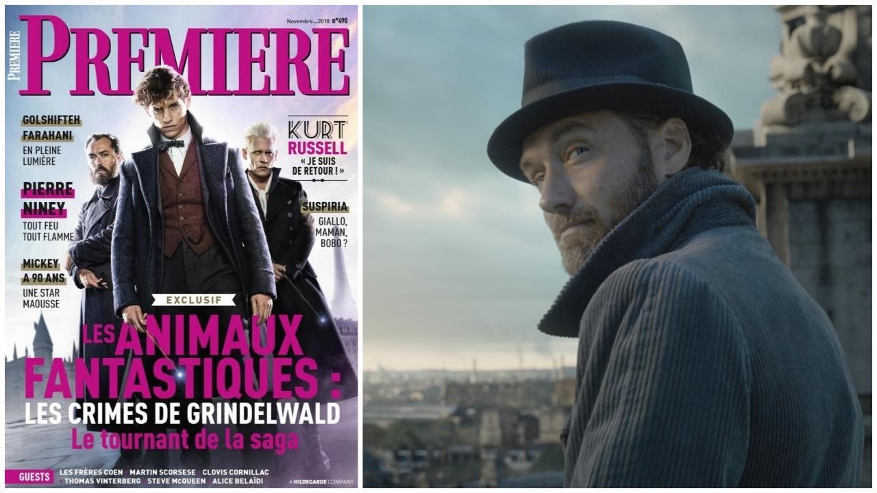"""Jude Law : """"Le but est que je puisse jouer Dumbledore de manière inconsciente"""""""