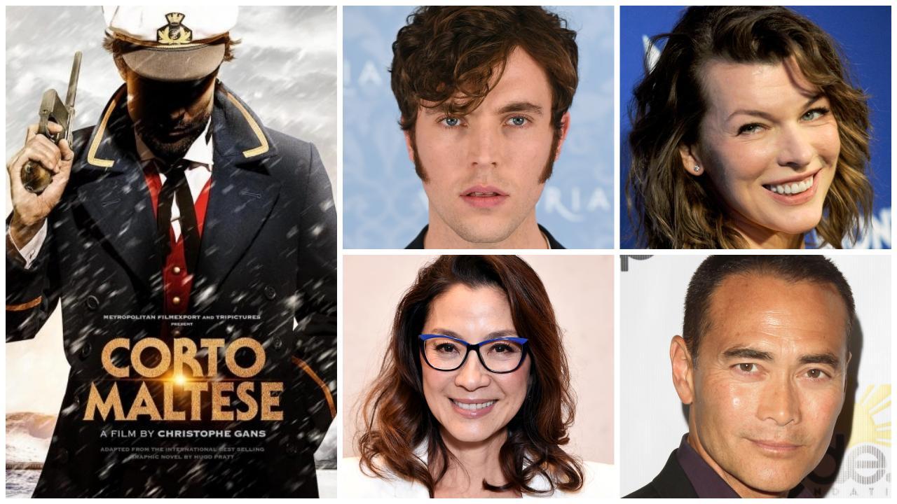 Découvrez l'affiche teaser et le casting — Corto Maltese