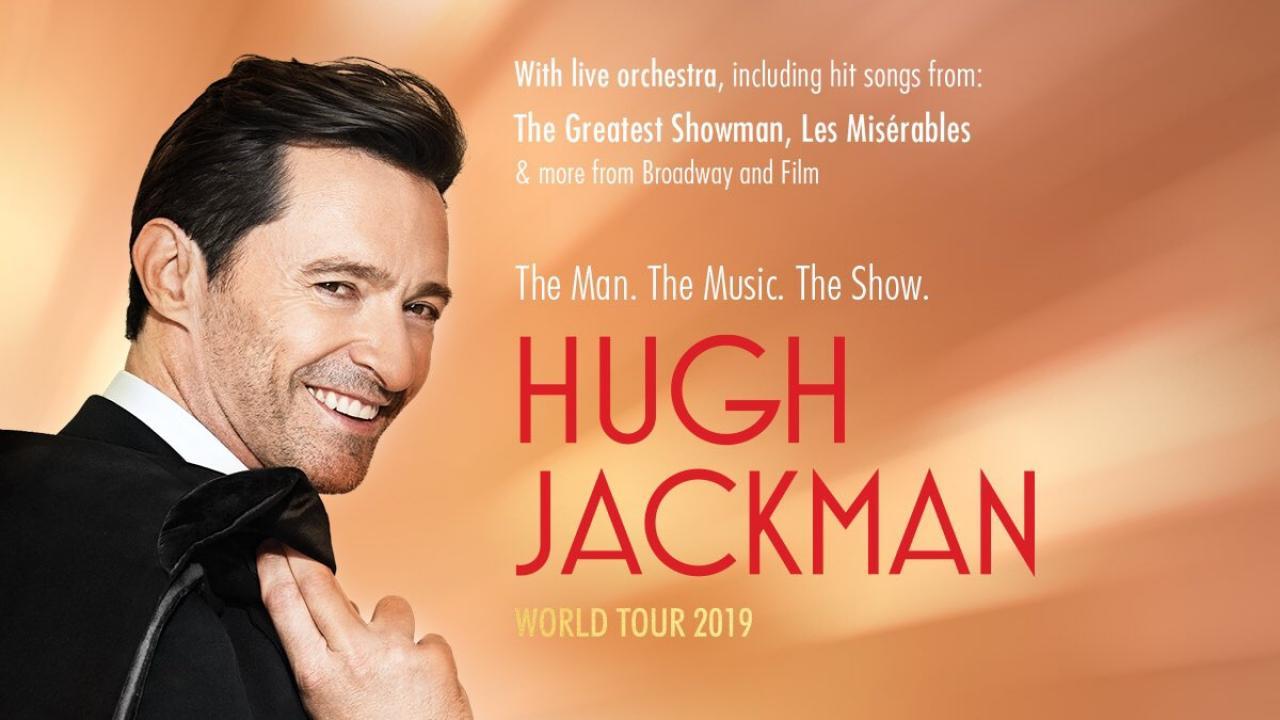 Hugh Jackman annonce un concert à Paris en 2019