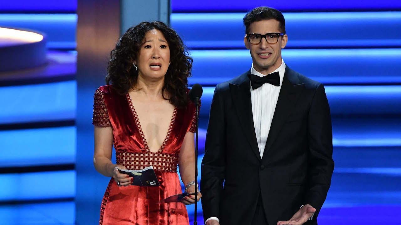 Sandra Oh et Andy Samberg pour présenter les Golden Globes