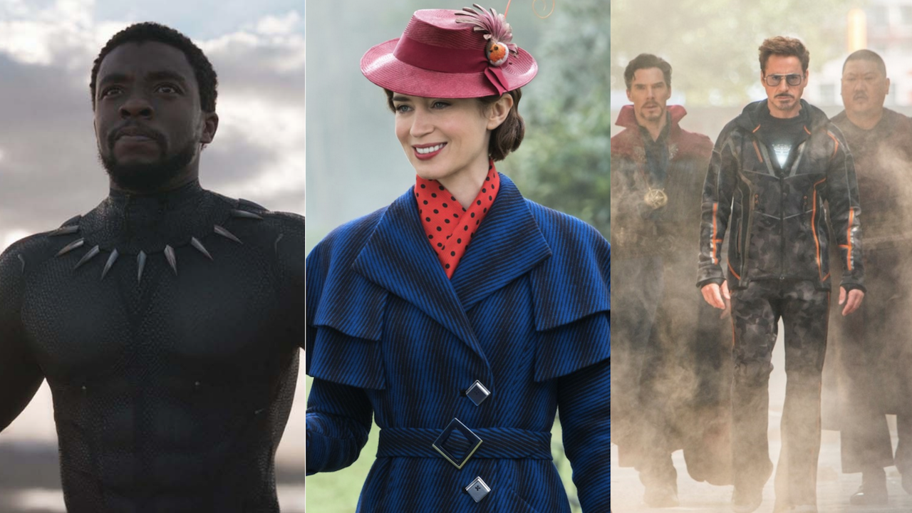 Shortlist Oscars 2019 Black Panther Mary Poppins Avengers