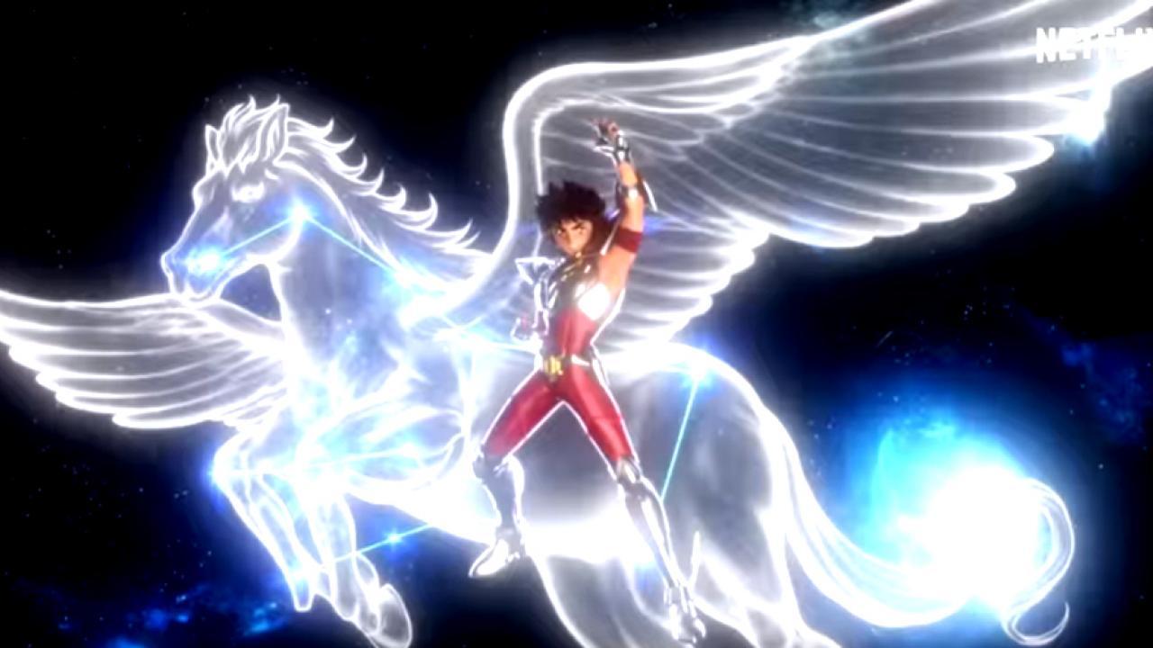Chevalier Pegase Les chevaliers du zodiaque Saint Seiya