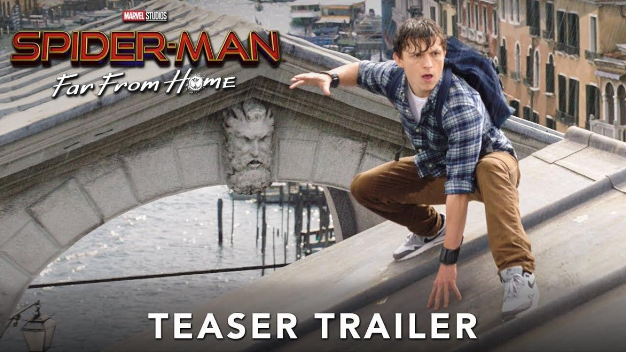 Spider-Man : Far From Home - le premier trailer est en ligne !