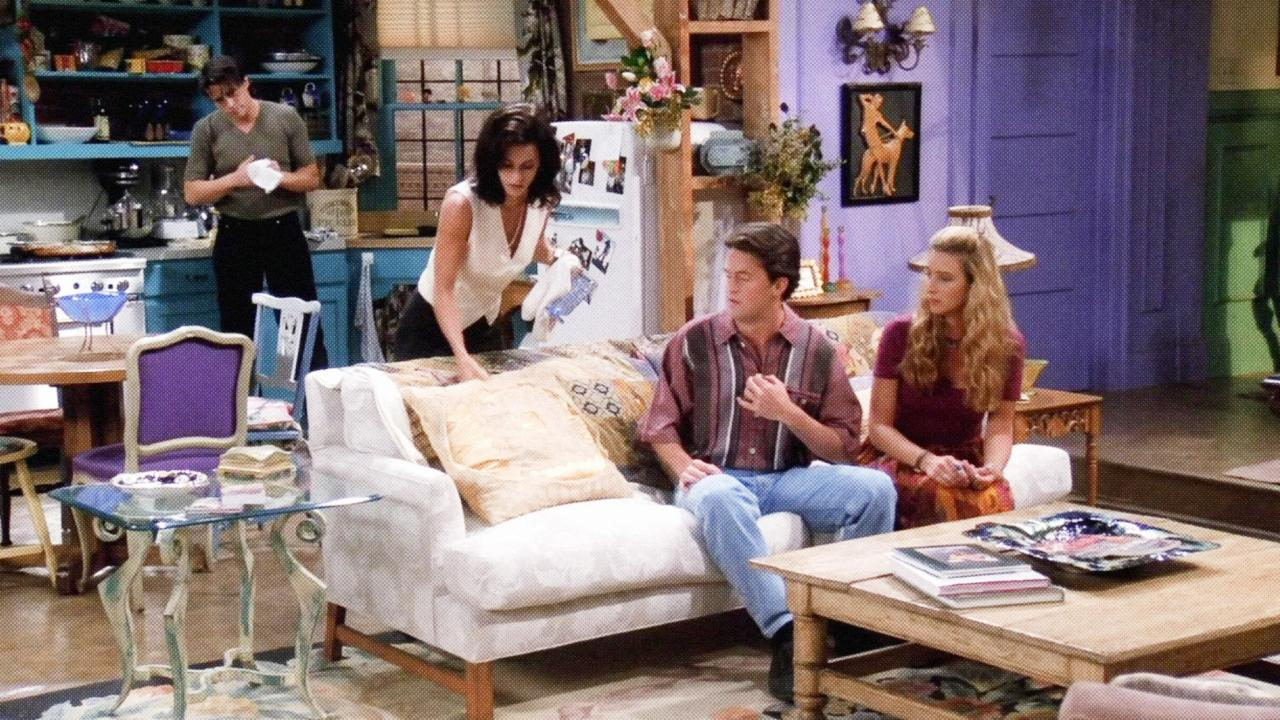 Quand Courteney Cox retourne dans l'appartement de Monica — Friends