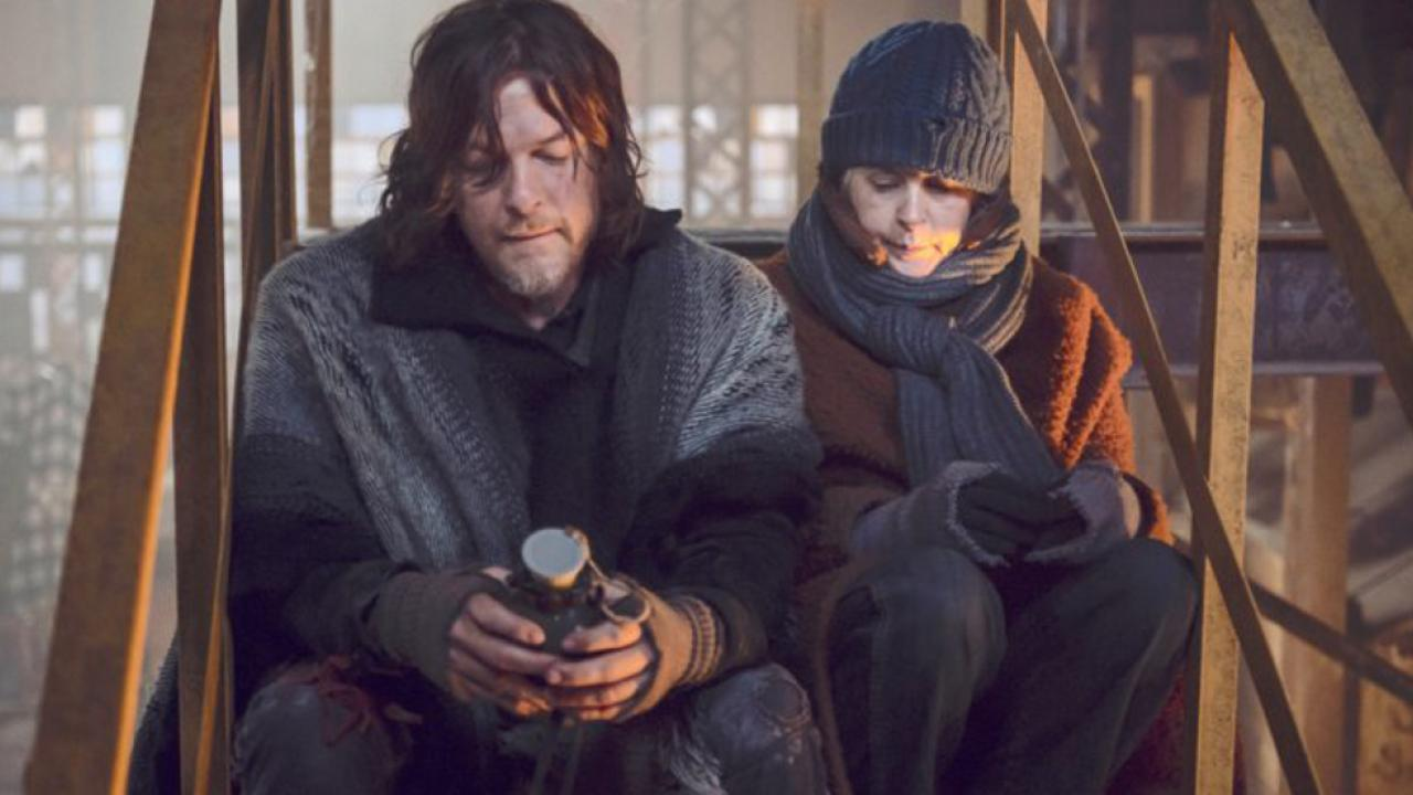 walking dead daryl carol
