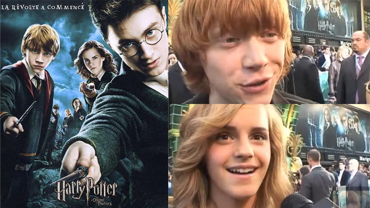 Harry Potter 5 interviews