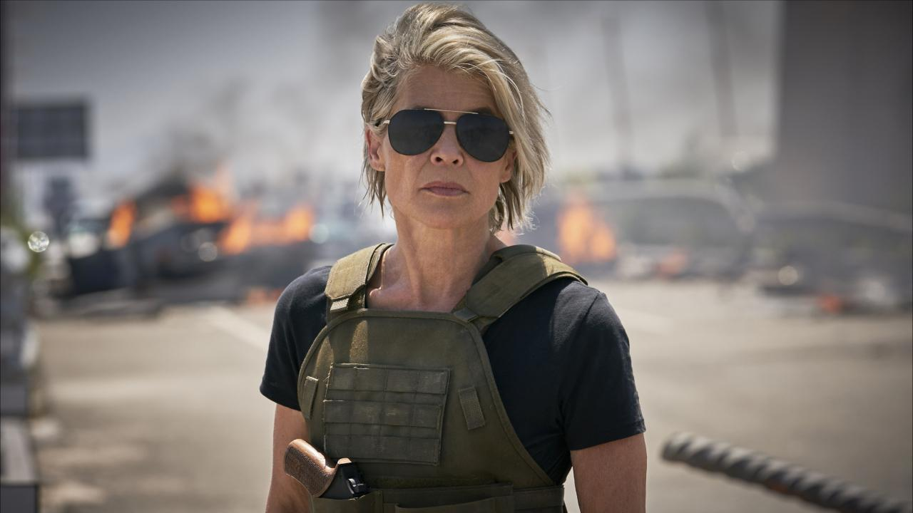 Bande-annonce explosive et Sarah Connor en affiche — Terminator Dark Fate