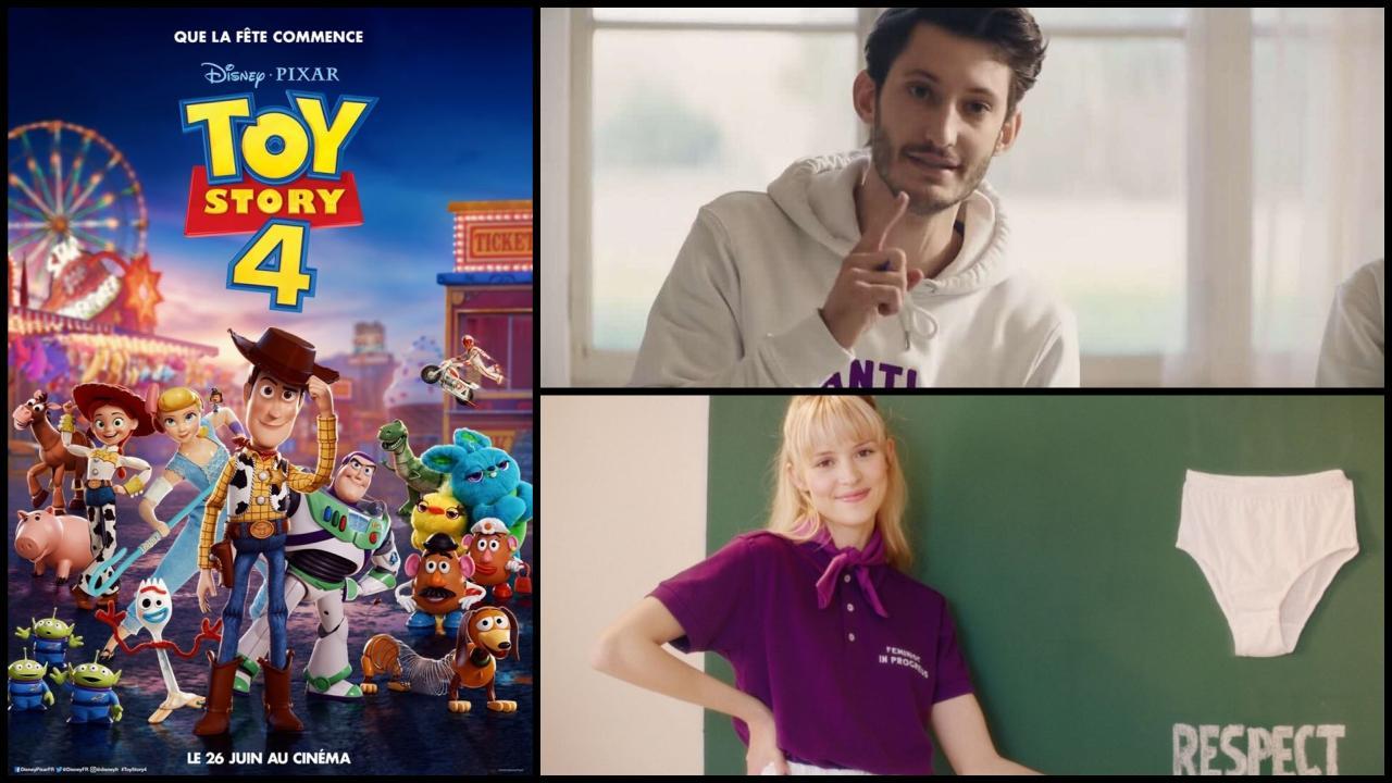 Après le clip Balance ton quoi, Angèle et Pierre Niney se retrouvent dans Toy Story 4