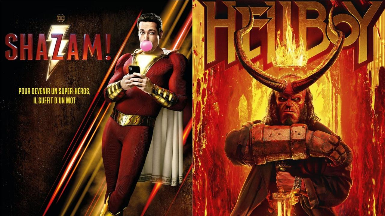 Box-office US du 14 avril : Shazam ! tient tête à Hellboy