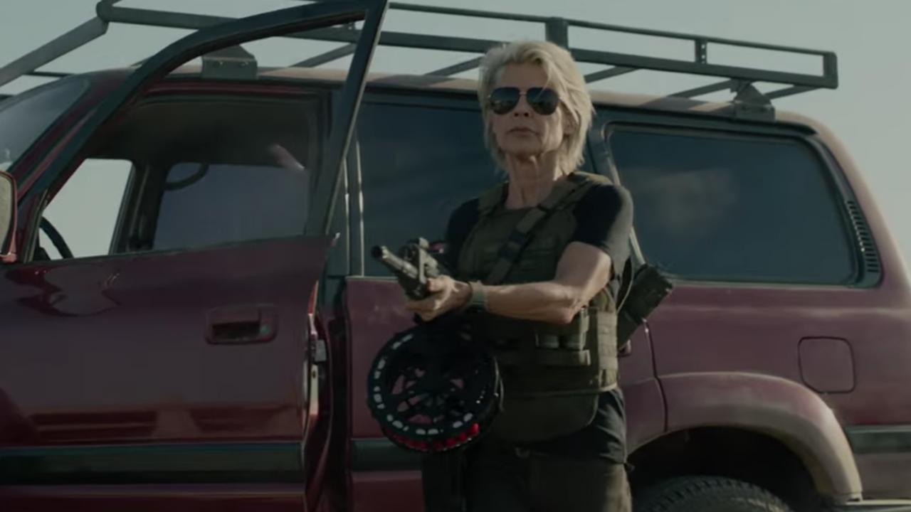 Terminator Dark Fate : Linda Hamilton est la star de la bande-annonce
