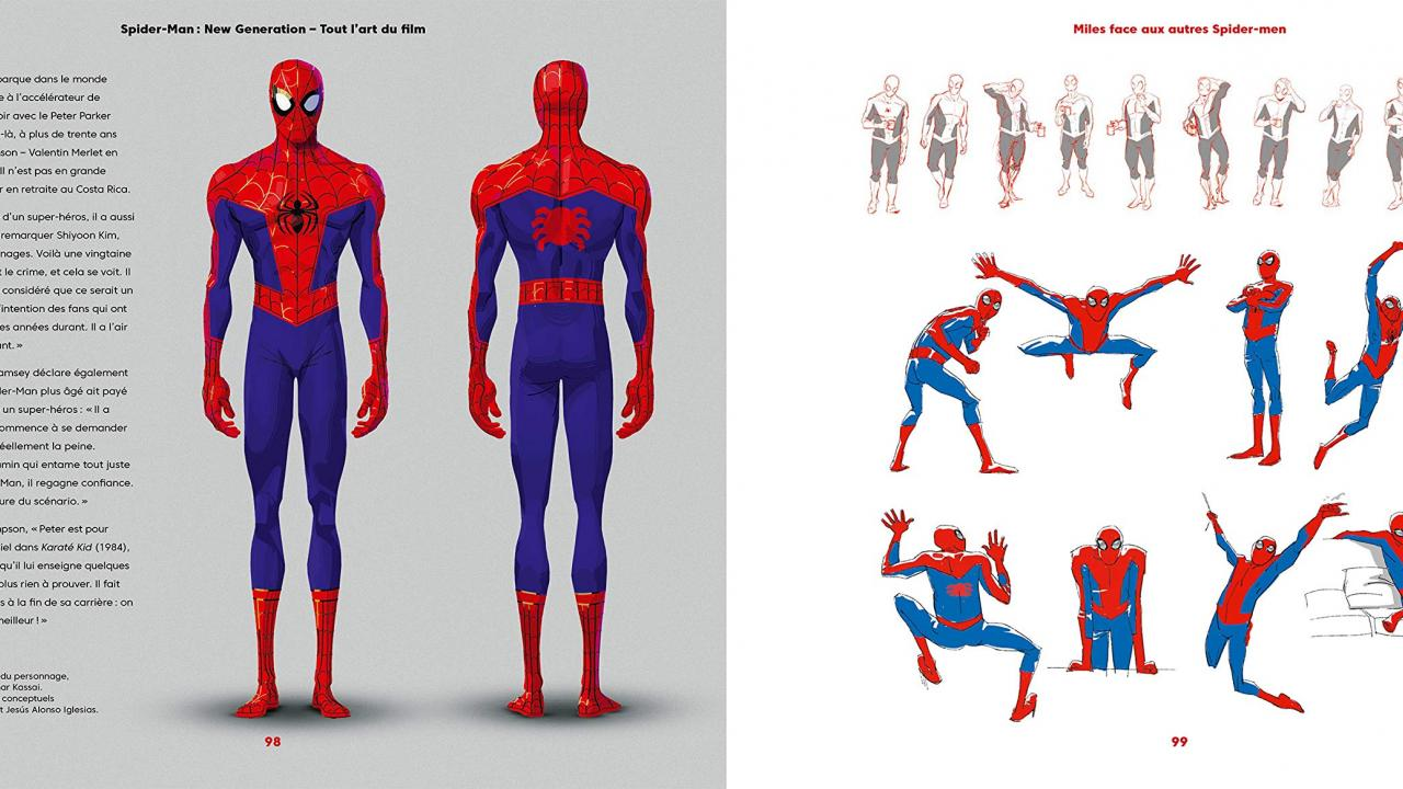 Spider-Man New Generation artbook