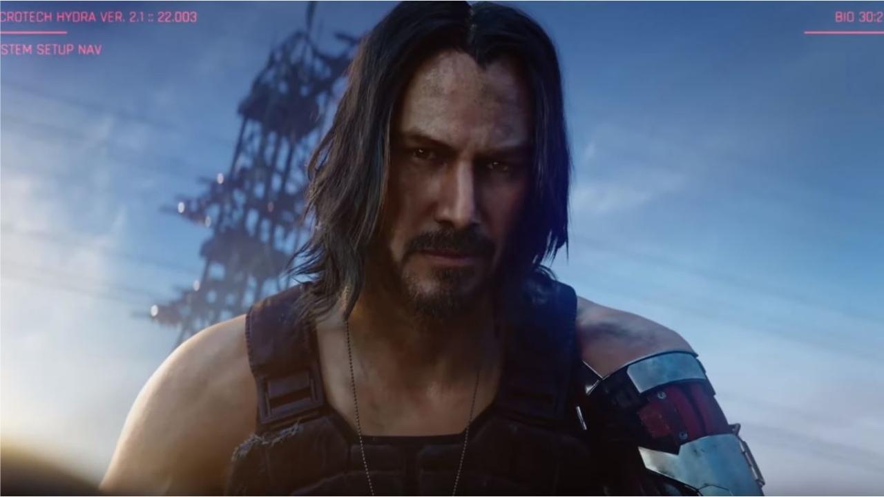 beau prix modéré pas de taxe de vente Keanu Reeves fait le show à l'E3   Premiere.fr