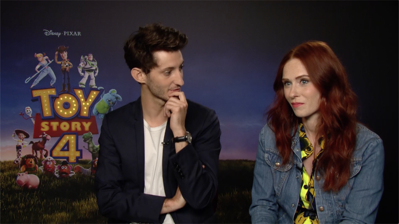Toy Story 4 Pierre Niney Audrey Fleurot