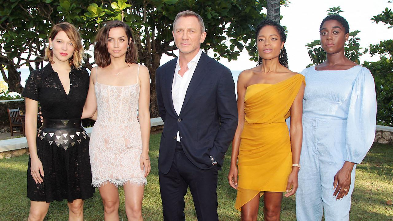 Lashana Lynch (right) would be the new 007