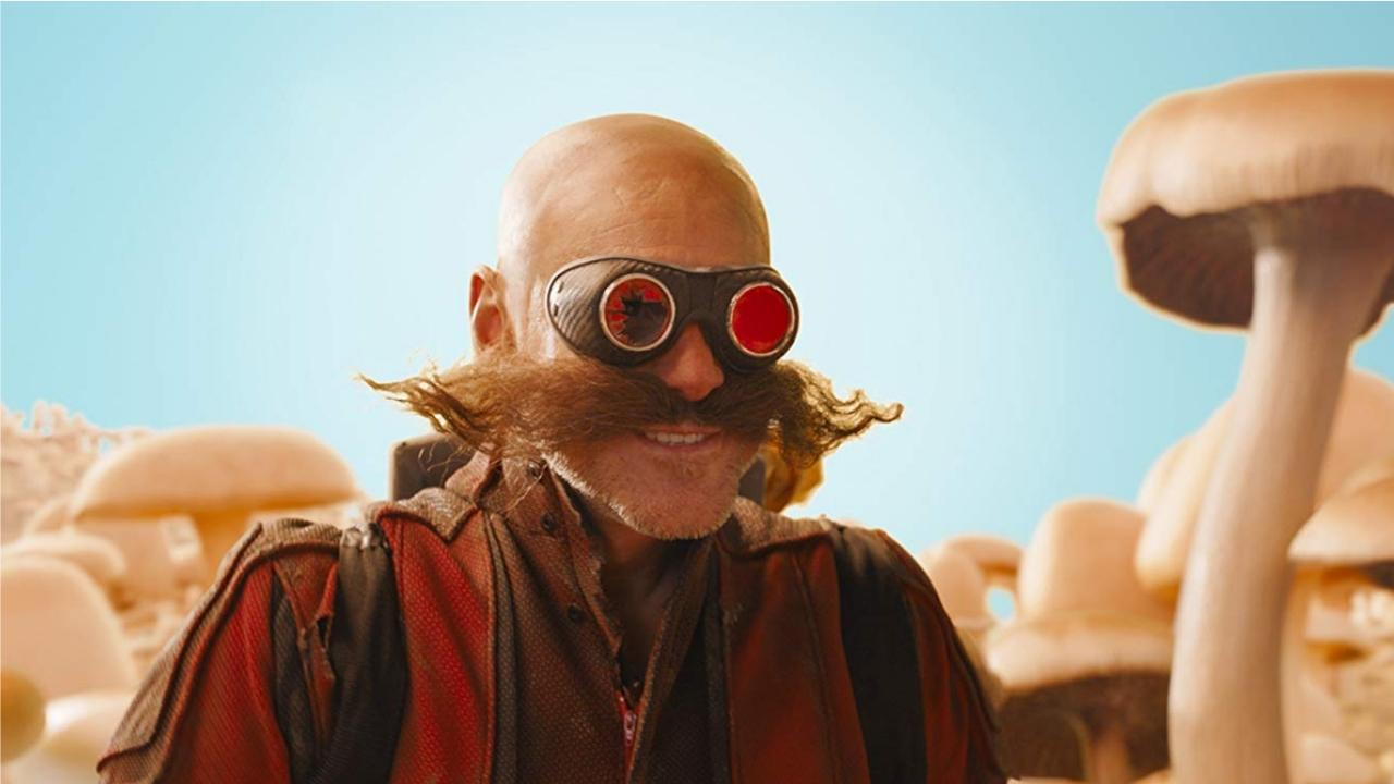 Docteur Robotnik Jim Carrey