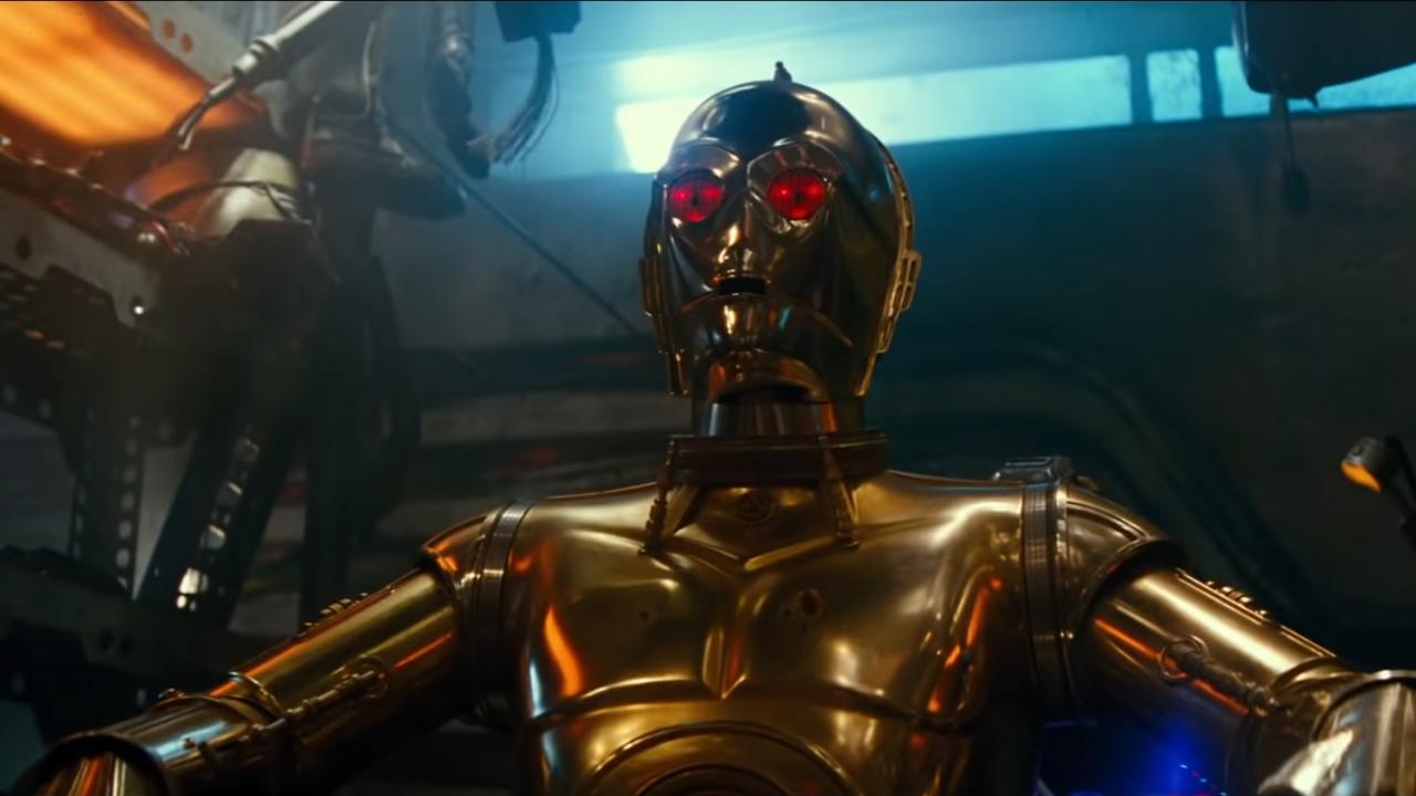 C-3PO yeux rouges Star Wars 9
