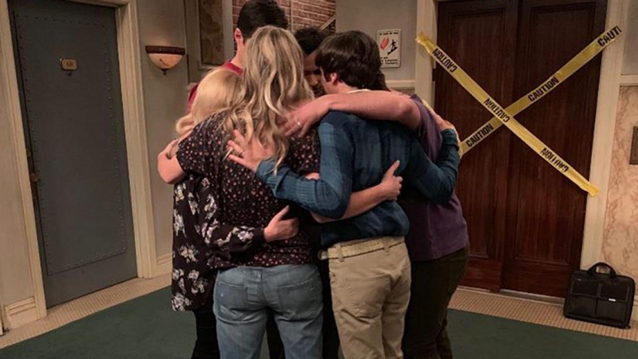 D'émouvantes images dans les coulisses du final de The Big Bang Theory