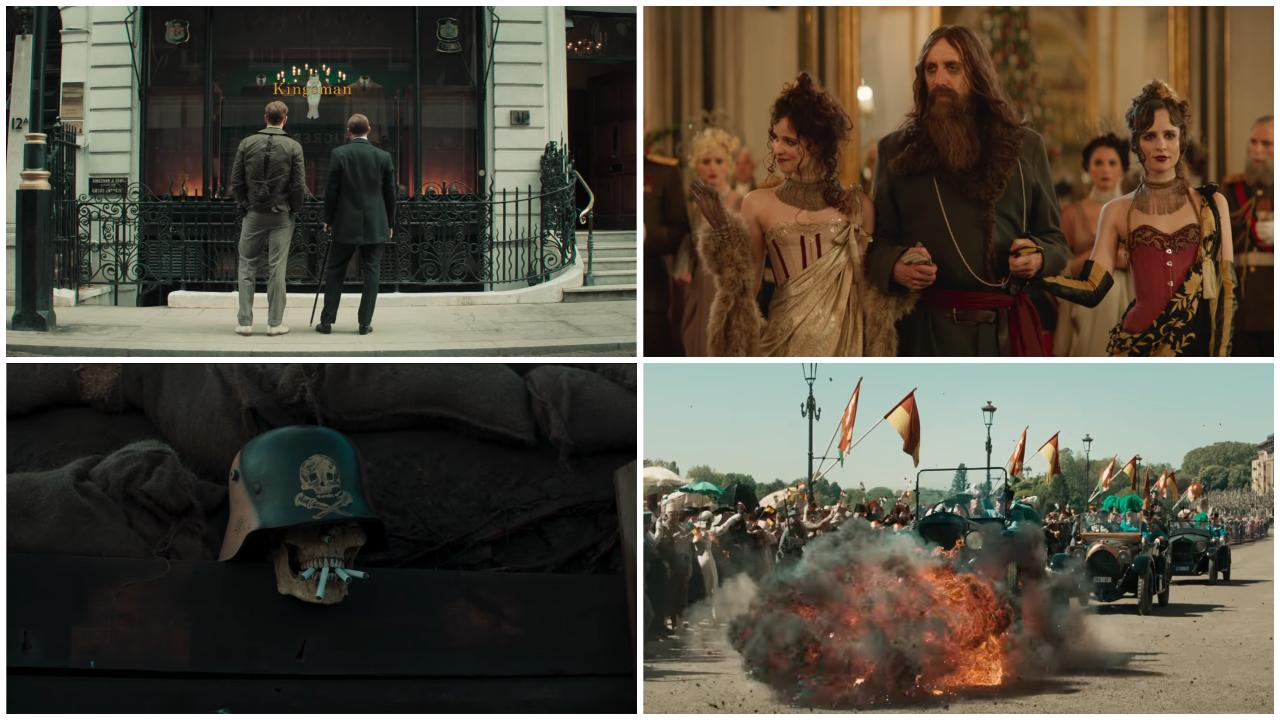 Voici à quoi ressemble le méchant de The King's Man — Trailer
