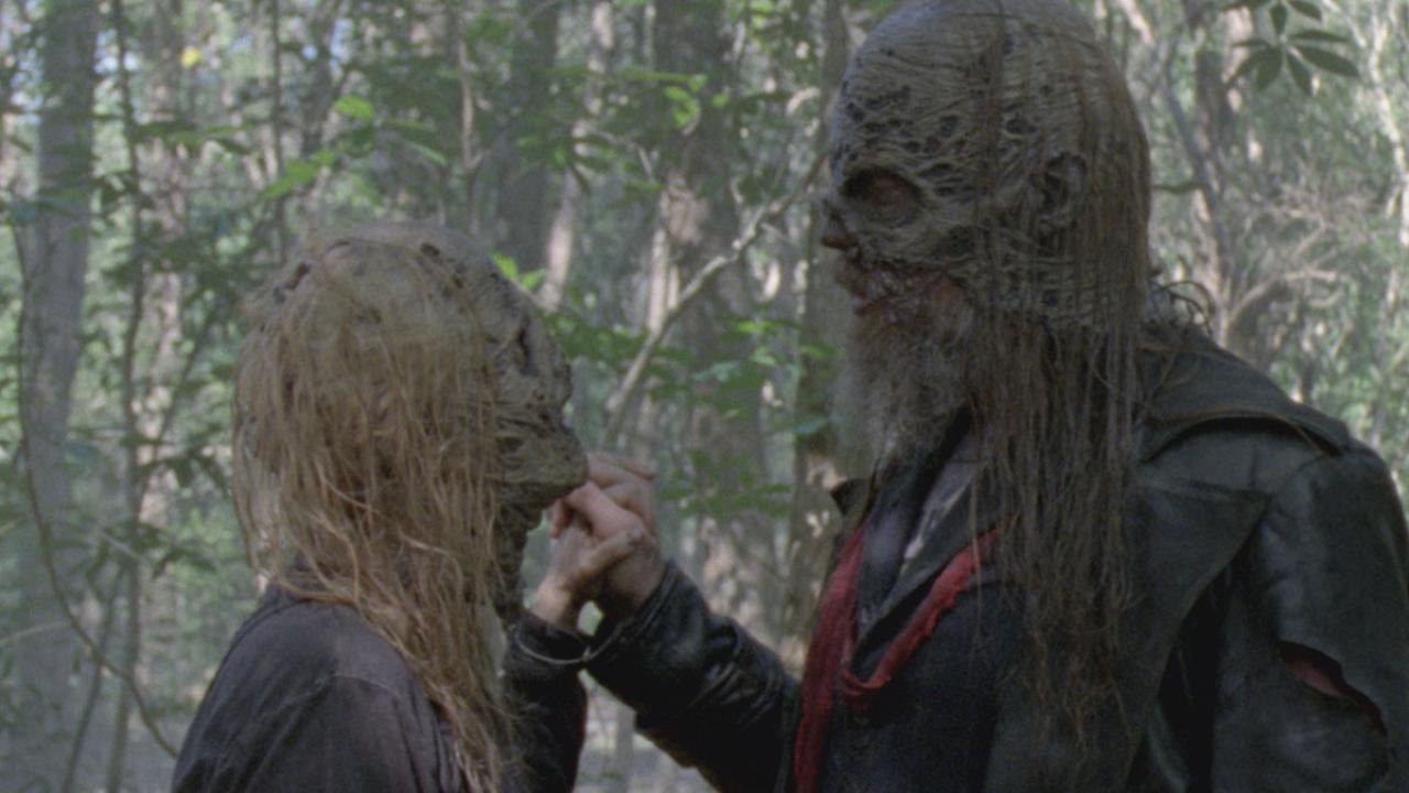 """Les Whisperers sont la """"la fin du monde"""" dans ce nouveau trailer de la saison 10 de Walking Dead"""