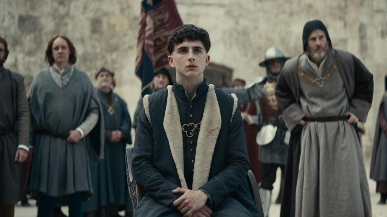 Timothée Chalamet s'en va-t-en guerre dans un nouveau trailer — Le Roi