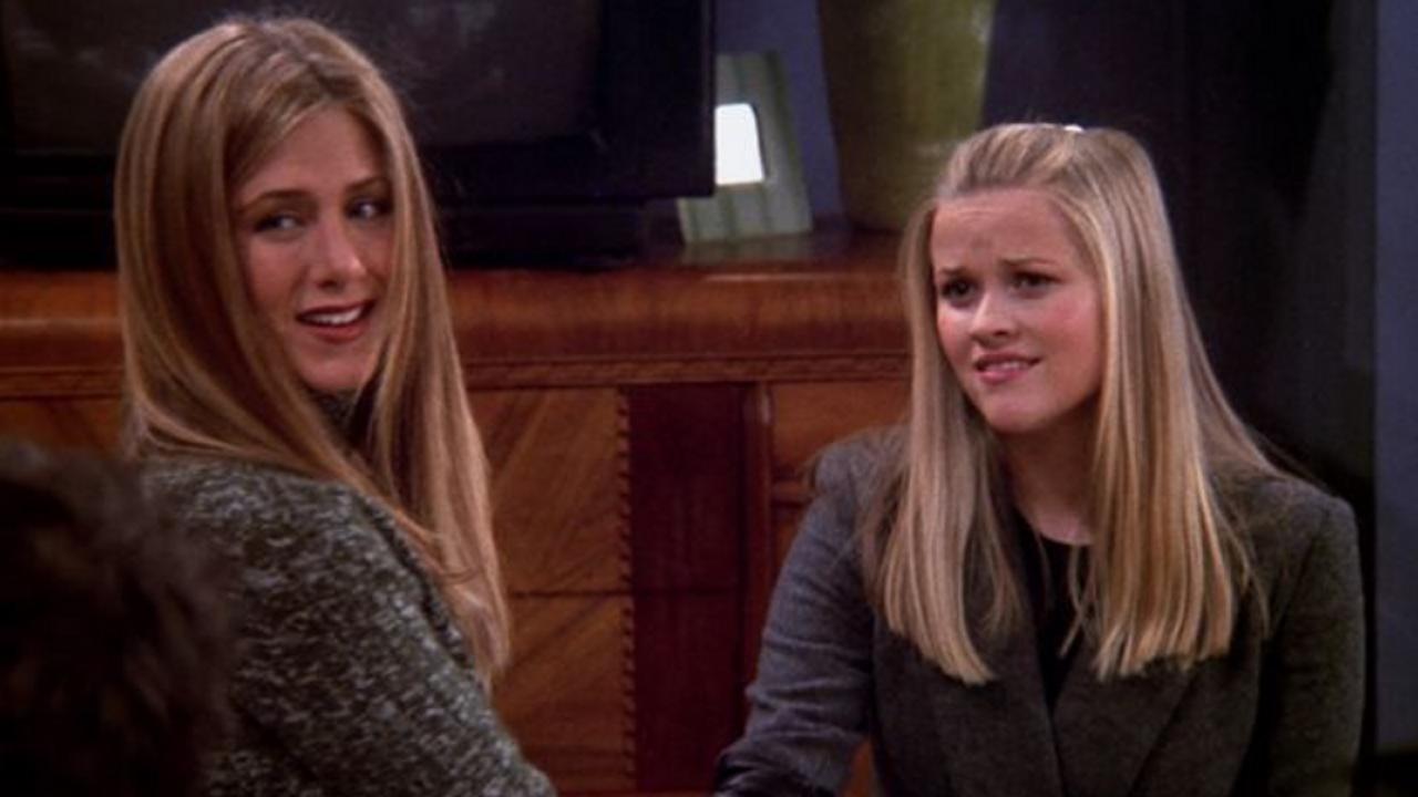Jennifer Aniston rejoue une scène culte de Friends avec Reese Witherspoon