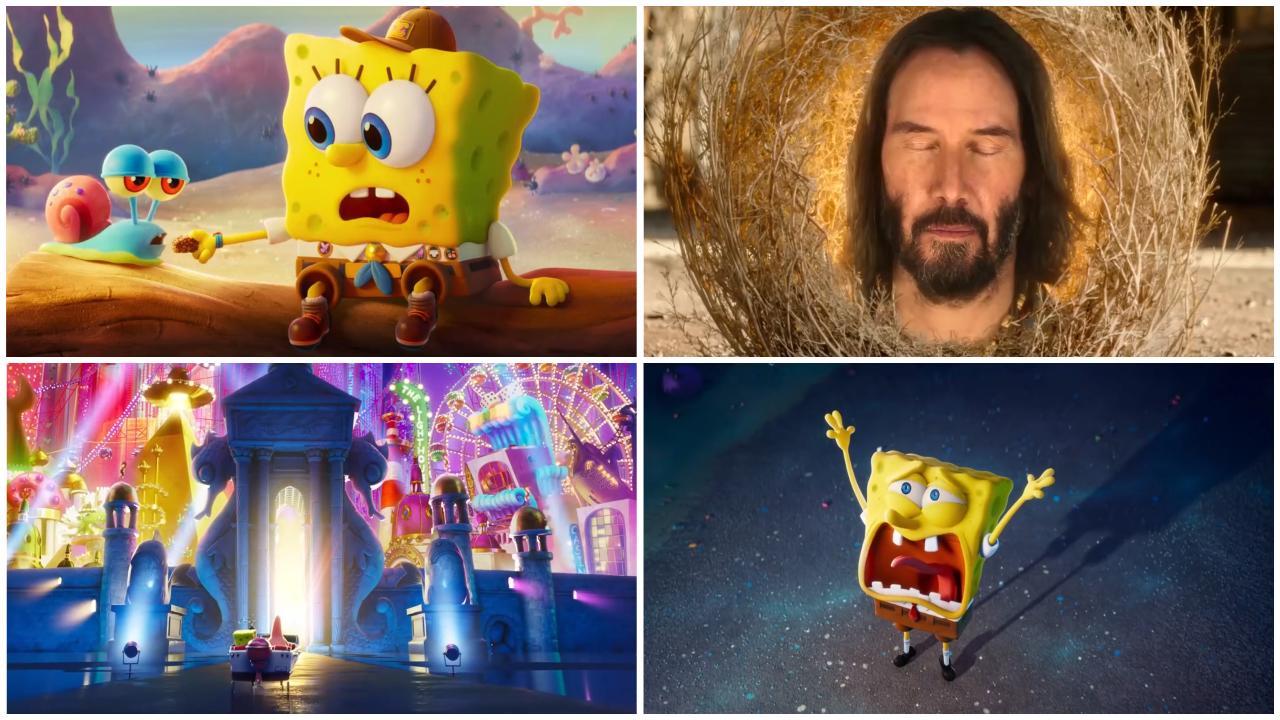 Bob l'Eponge le film : une bande-annonce délirante avec.... Keanu Reeves !