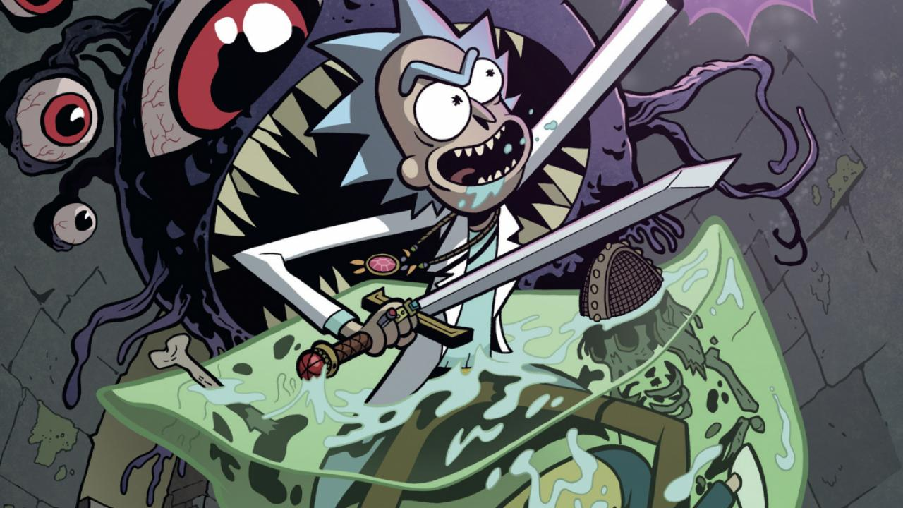 Rick et Morty Dungeons & Dragons