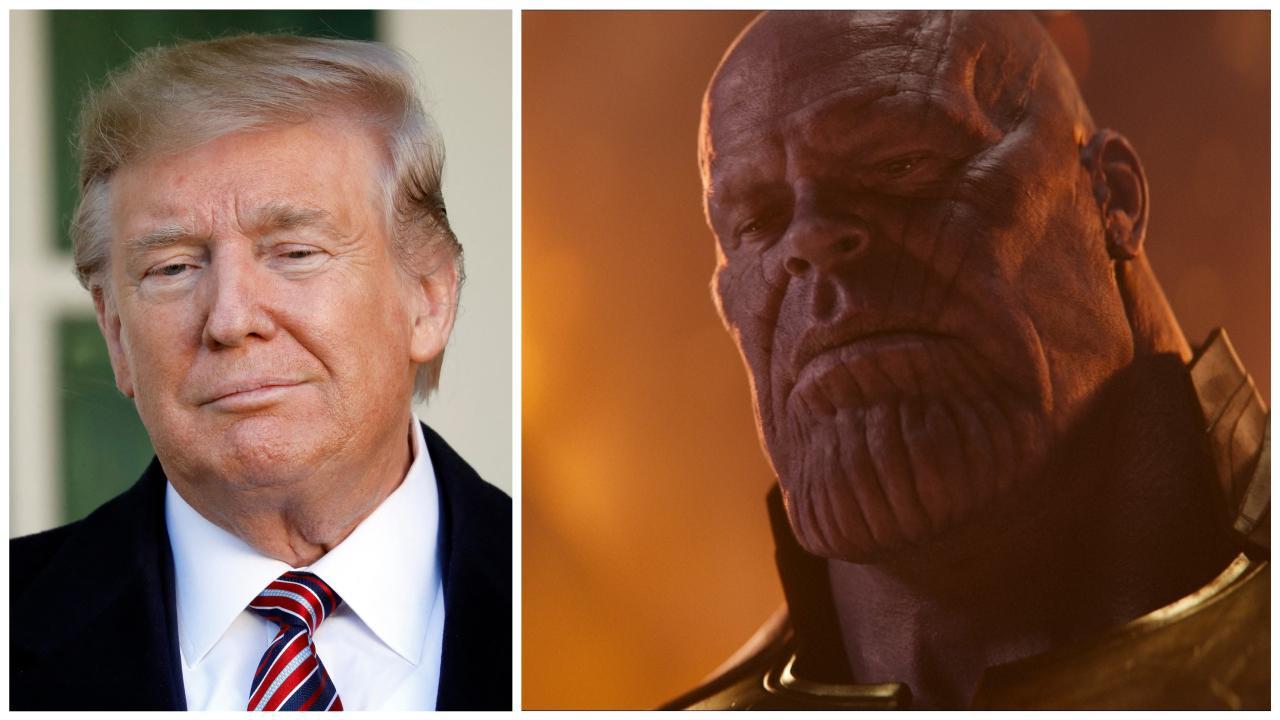 Donald Trump se compare à Thanos pour sa campagne de réélection