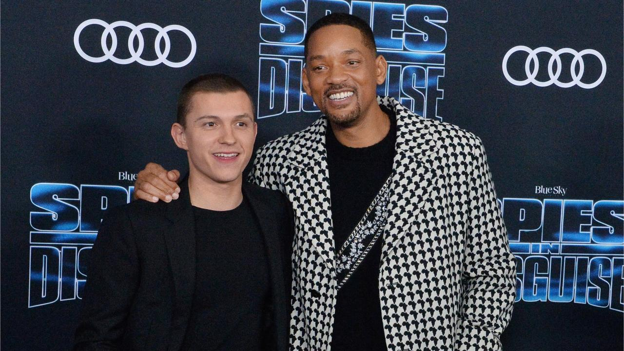 Tom Holland et Will Smith pour Les Incognitos
