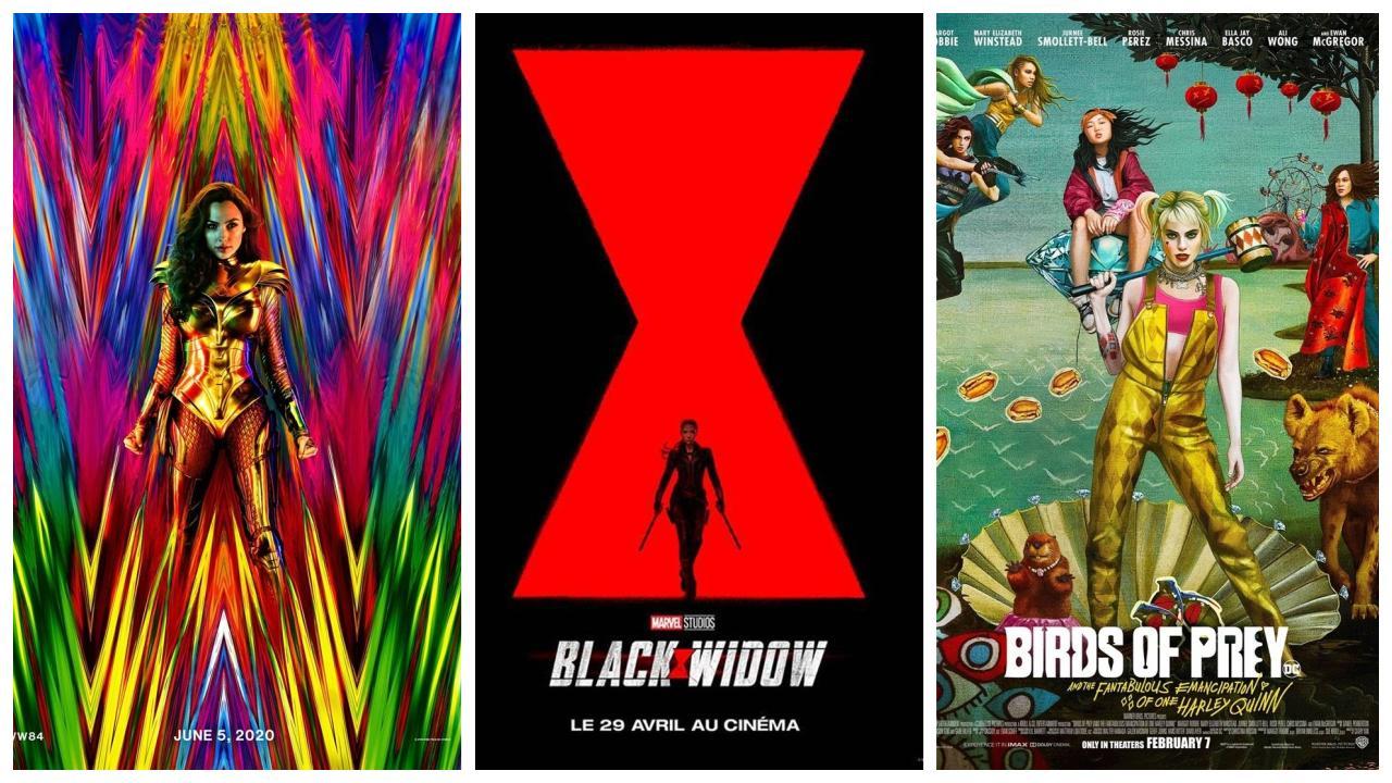 Quatre gros films de super-héros à venir en 2020 sont réalisés par des femmes