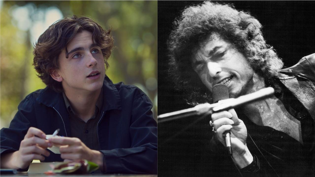 Timothée Chalamet sera Bob Dylan à l'écran