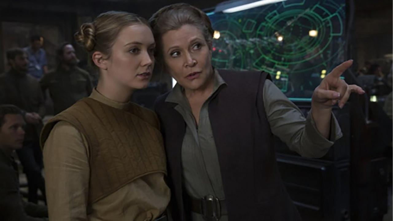 Sa fille Billie Lourd a joué la princesse Leia dans une scène de Star Wars 9 — Carrie Fisher