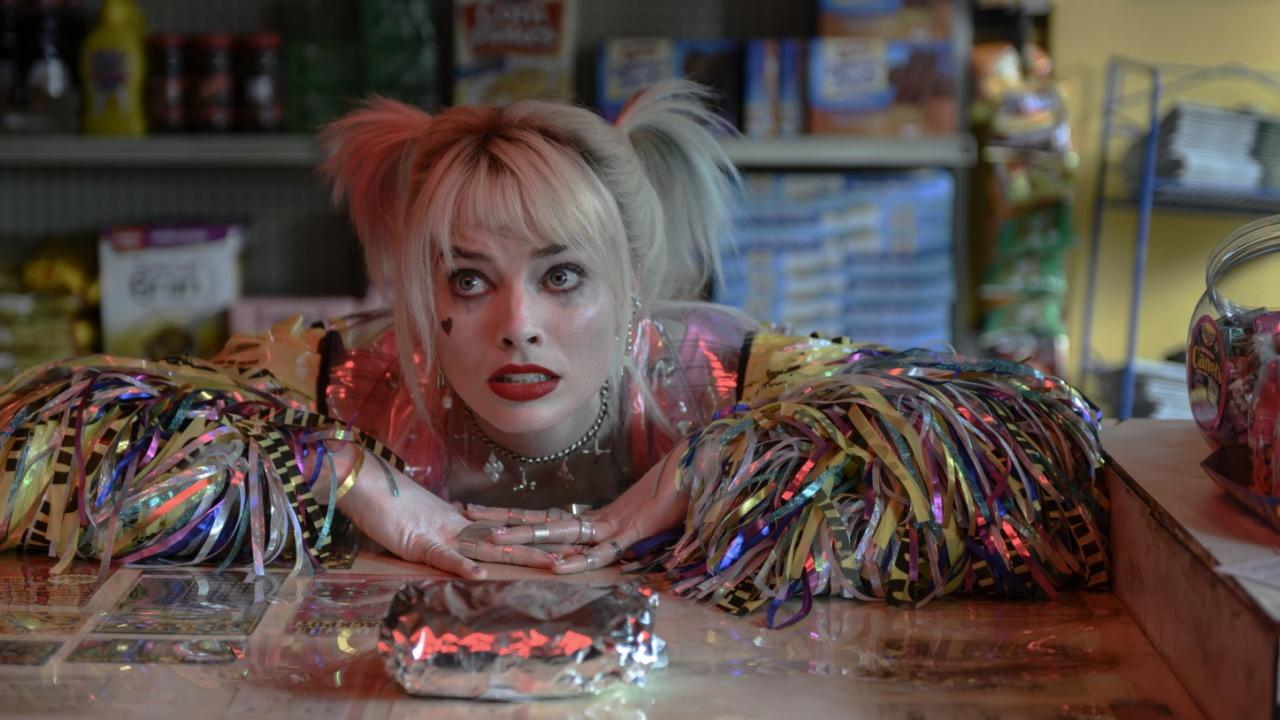 Harley Quinn vous offre des bonbons à Paris — Birds of Prey