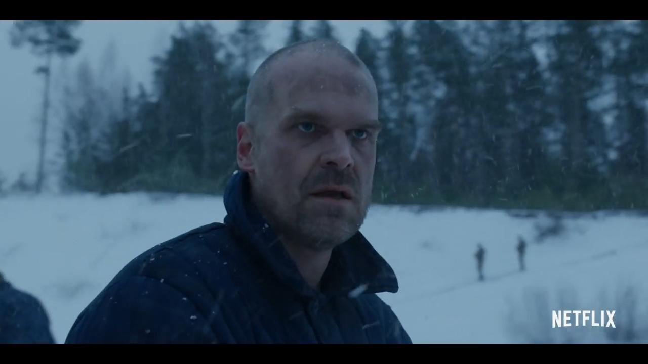 Hopper toujours en vie dans la saison 4 de Stranger Things