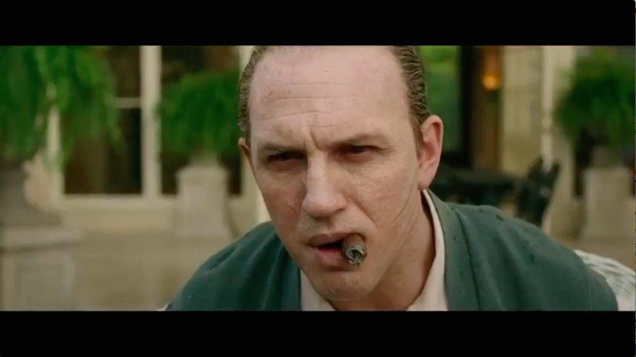 Tom Hardy méconnaissable et flippant en Al Capone (bande-annonce) — Capone