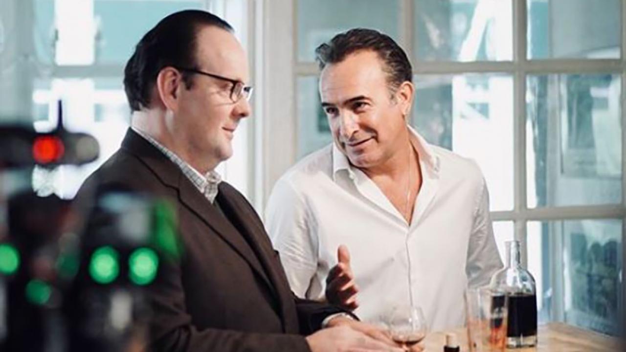 Une première image de Jean Dujardin en Nicolas Sarkozy pour le film d'Anne Fontaine — Présidents