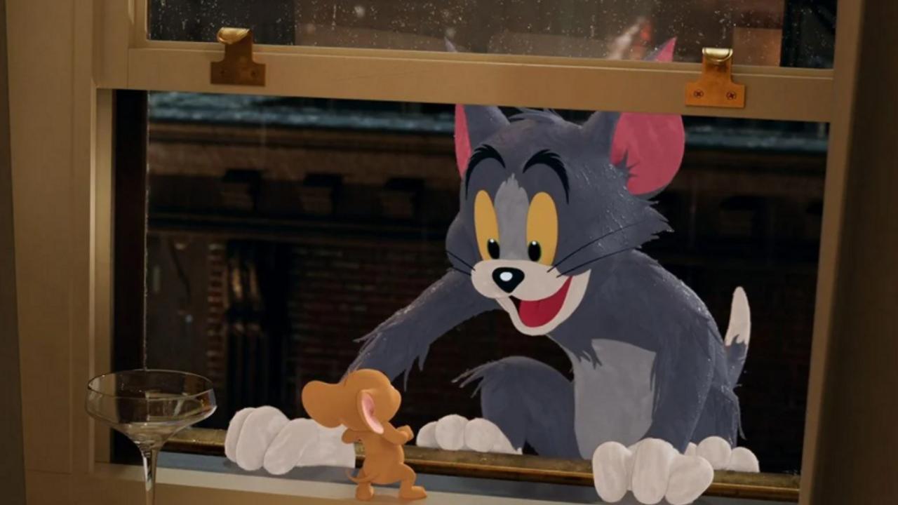 Le nouveau film Tom et Jerry dévoile sa bande-annonce déjantée   Premiere.fr