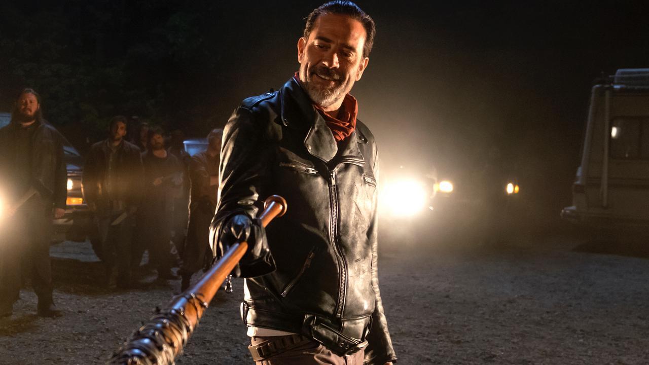 La femme de Jeffrey Dean Morgan (Negan) incarnera Lucille — The Walking Dead