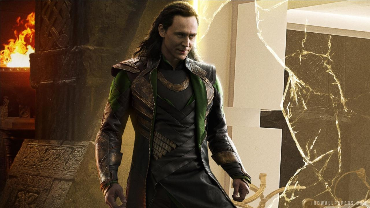 Tom Hiddleston Loki Thor 2