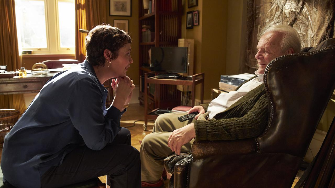 The Father avec Anthony Hopkins et Olivia Colman