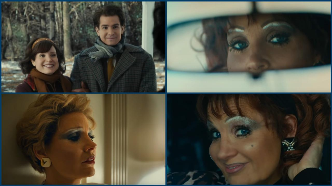 Jessica Chastain transformed for the Eyes of Tammy Faye: first bluffing trailer