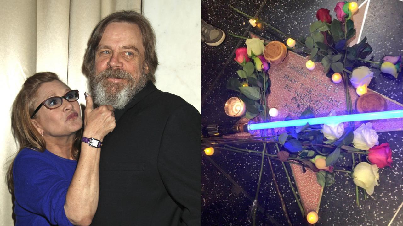 Carrie Fisher is going to have her star in Hollywood: Mark Hamill is jubilant
