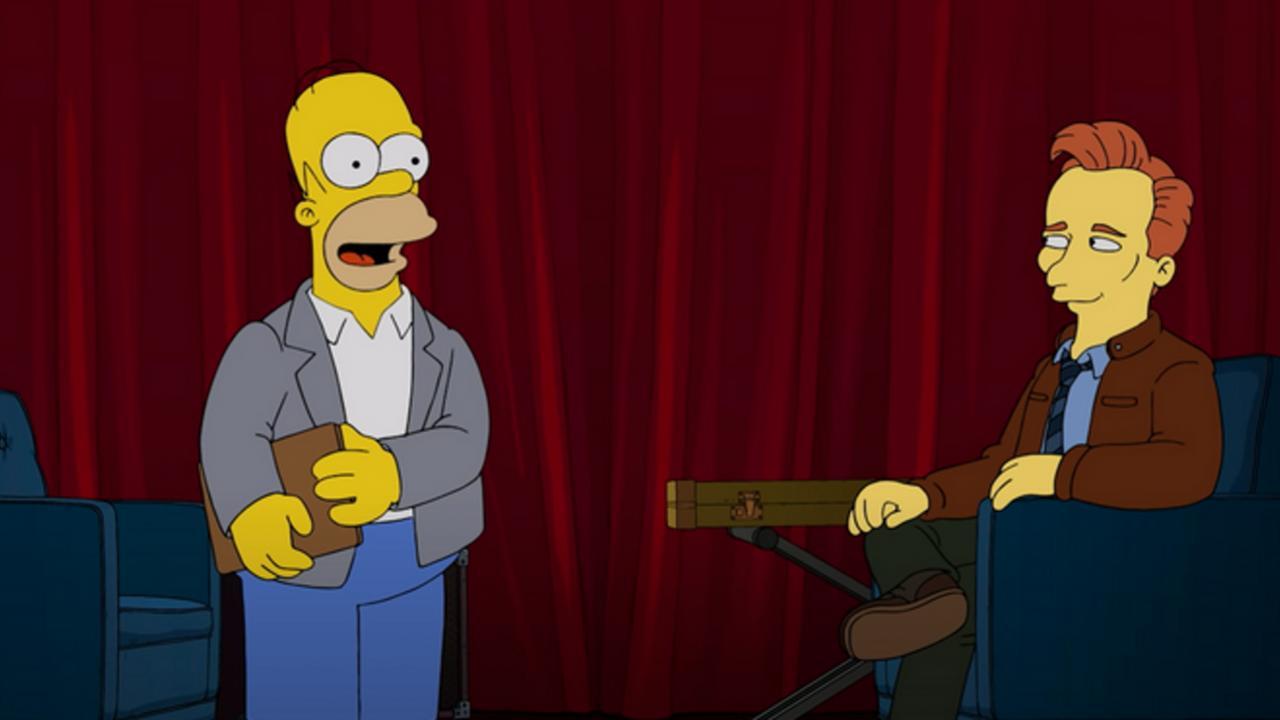 Homer simpson conan